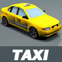 3ds taxi tires