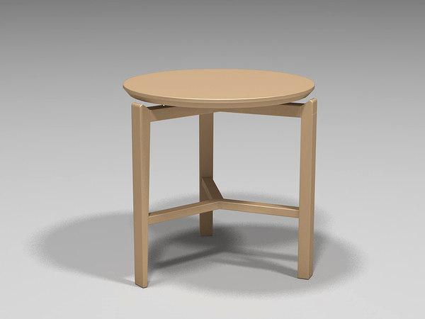 3d model coffee table symbol