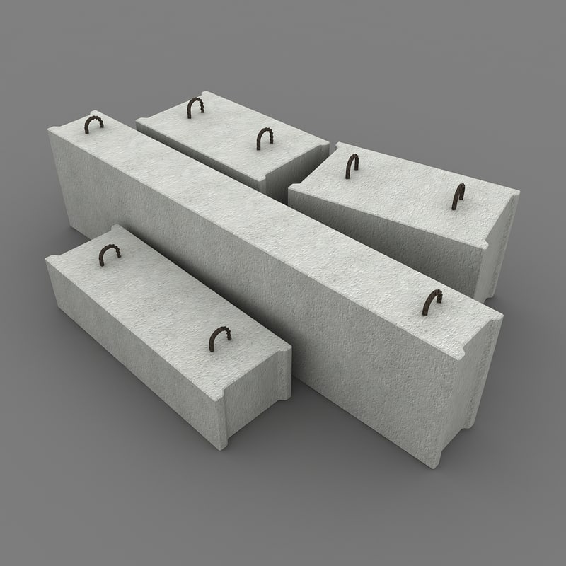 max concrete blocks