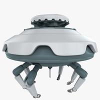 3d model nanobot nano bot