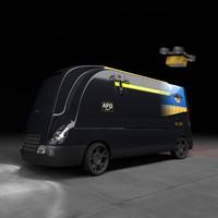 Autonomous parcel delivery concept