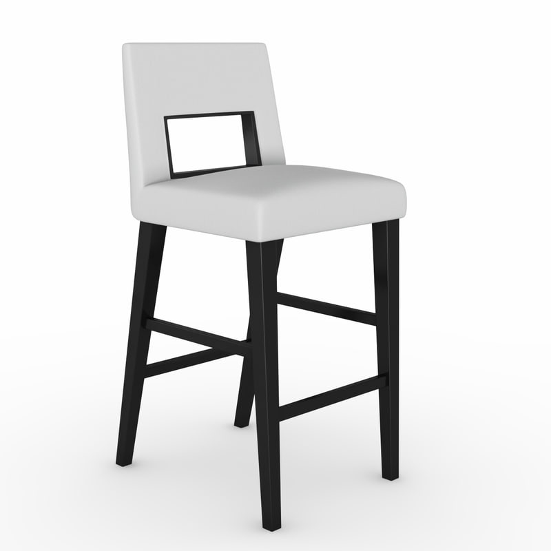 bar chair blues 3d model