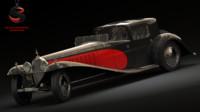 3d bugatti type 41 royale