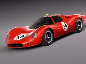 car 1986 race 3d model