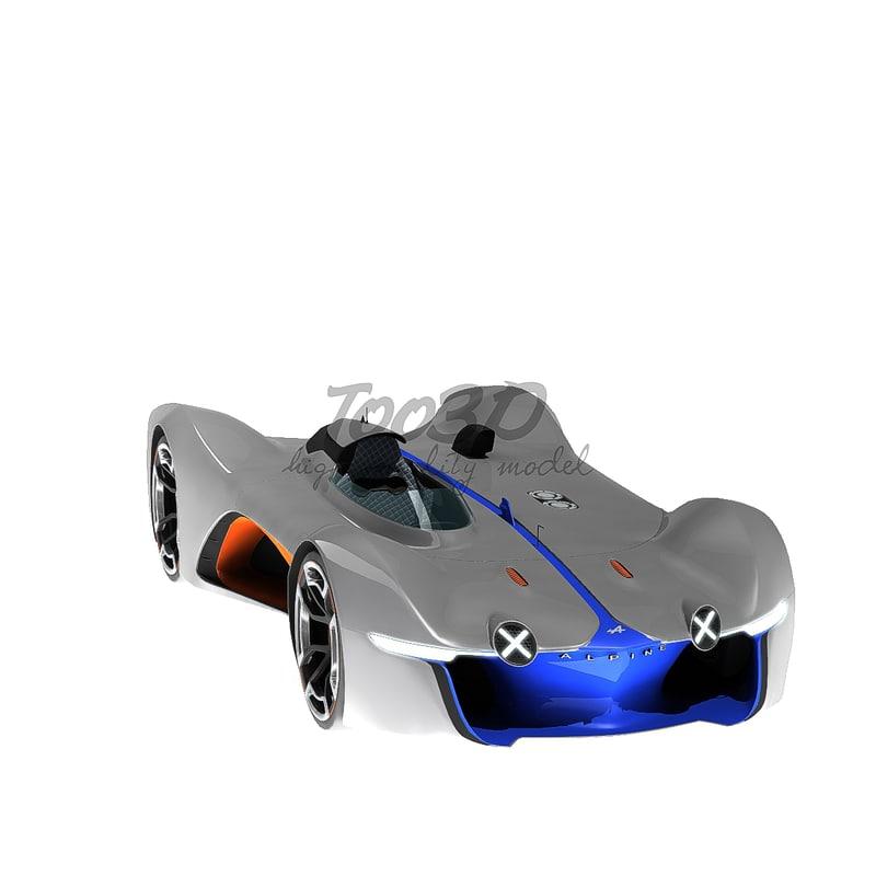 3d model alpine vision