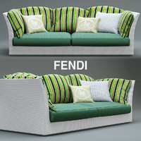 3d sofa fendi outdoor