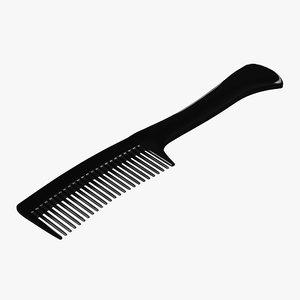 3d comb modeled model