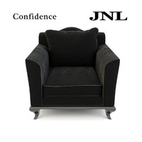 3d jnl confidence armchair model