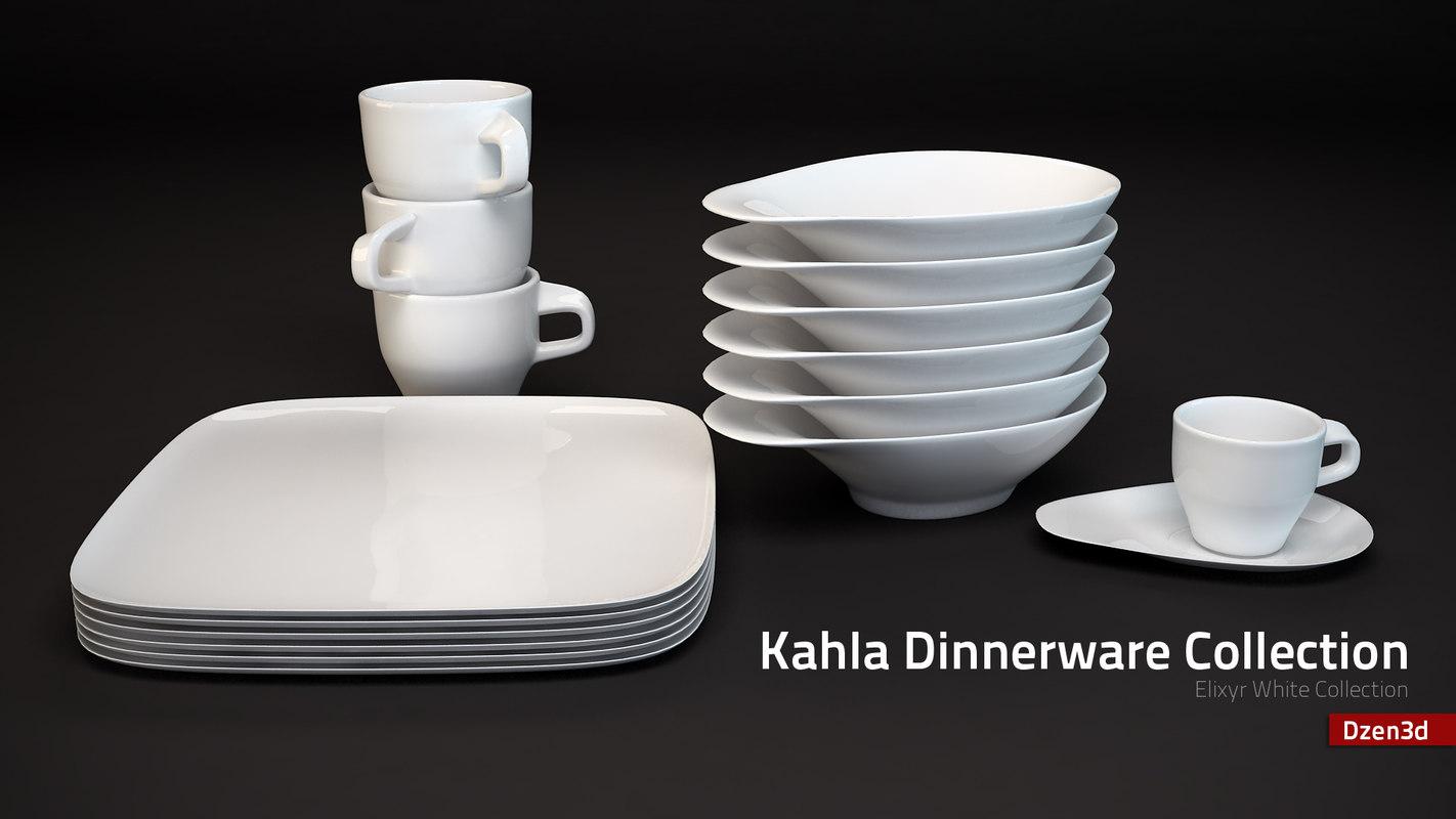 max kahla dinnerware