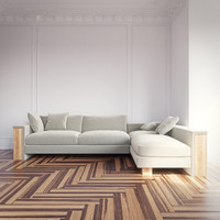 3d model montana corner sofa frommholz