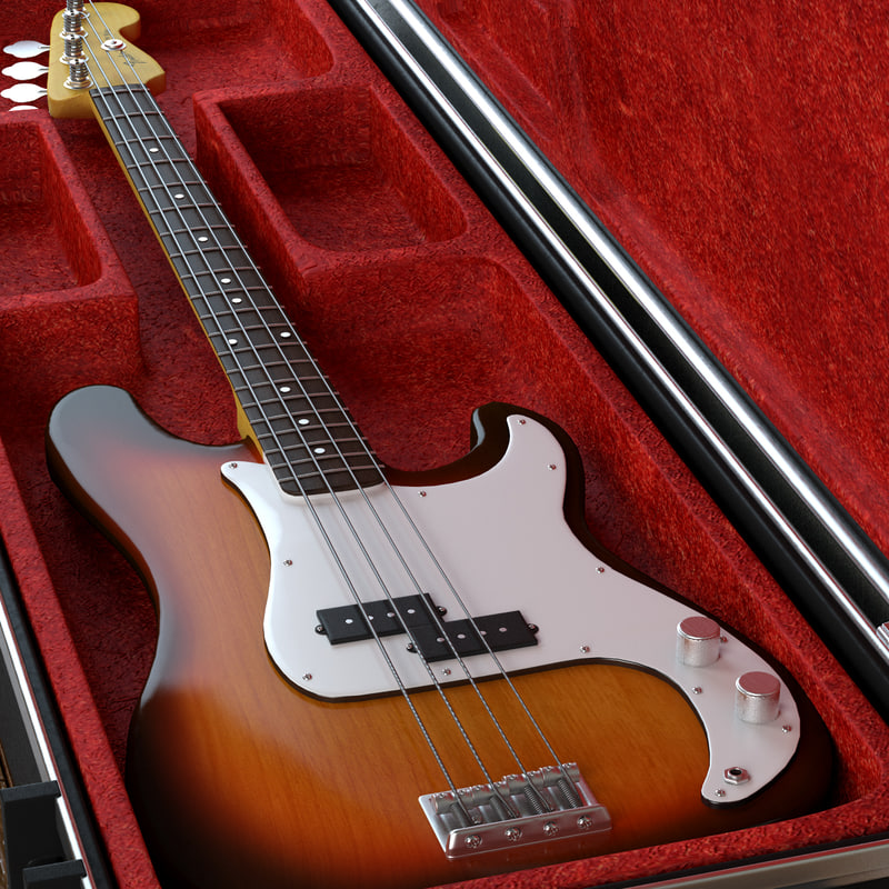 max guitar fender precision bass