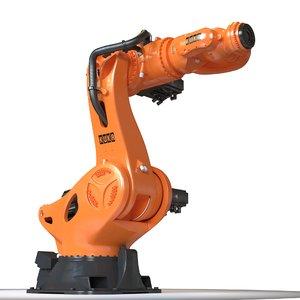 3d industrial robot kuka kr