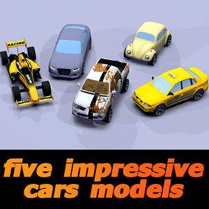 3d car toon