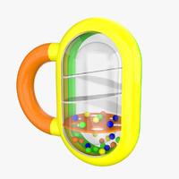 baby toy 3d model