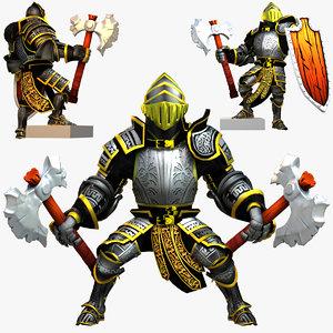 rigged knight series max