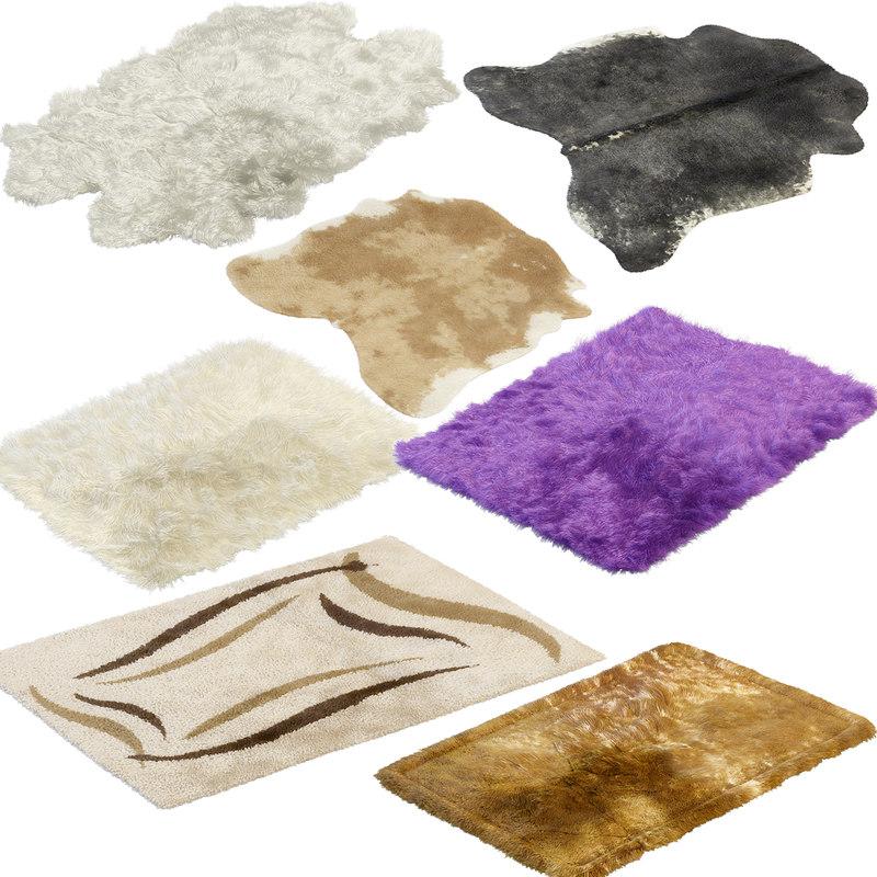 3d model interiors fur
