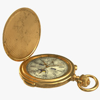 Old russian stopwatch