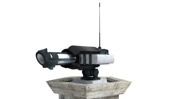 heavy turret 3d 3ds