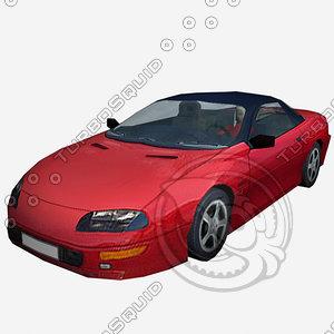 3d car