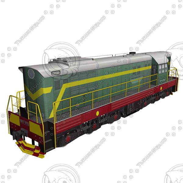railwayman railroader 3ds