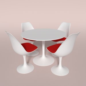 tulip chair 3ds