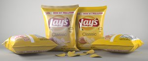bags chips lays max