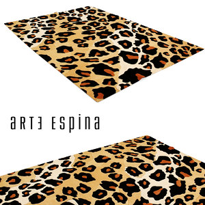3d model arte espina natural skin