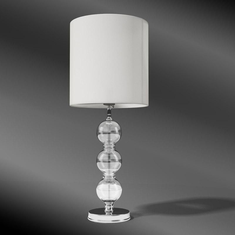 eichholtz lamp royal sheffield 3d model