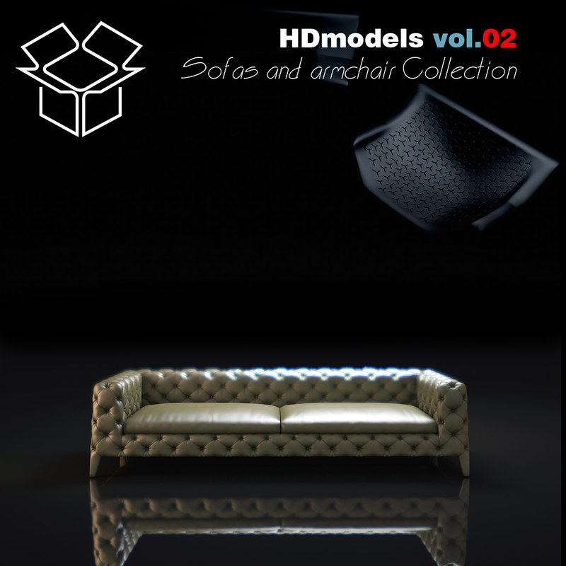 3d includes sofa