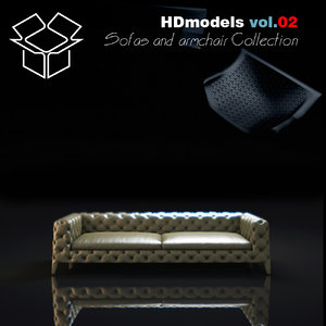 3d includes sofa
