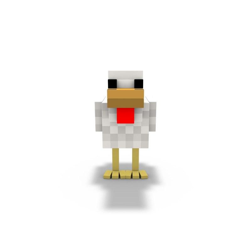 Chicken Mine Craft