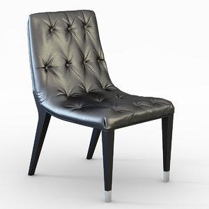 3ds max pietro chair