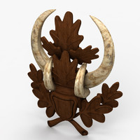 3d model trophy ornament