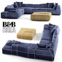 3d model b italia bend