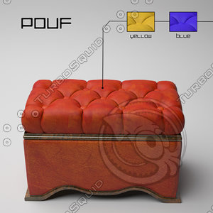 leather ottoman max