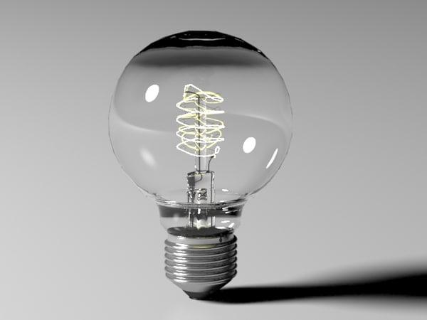 bulb light 5 3d model