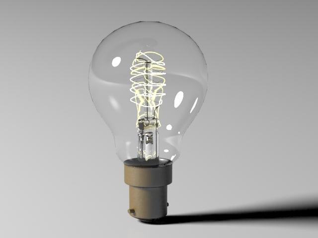 bulb light 7 3d max
