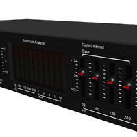 3d equalizer eq spectrum model