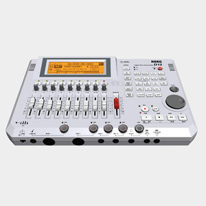 digital track recorder 3d max