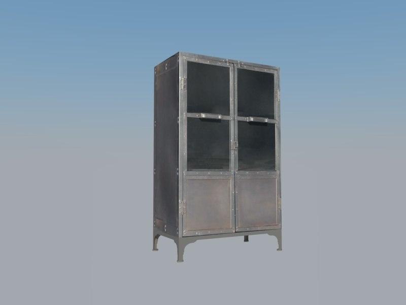 3d old cabinet 3 model