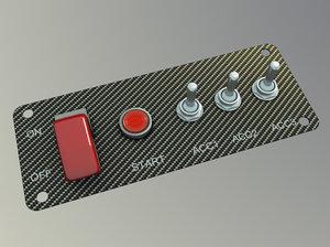 maya engine start switch kit