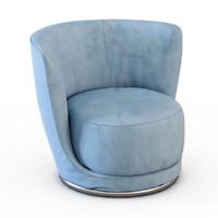3d armchair longhi
