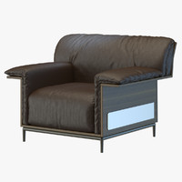 3d max armchair shangrila