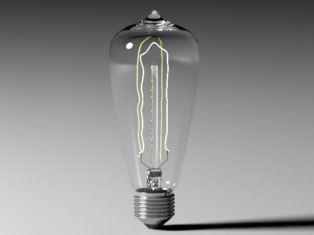 3d bulb light 13