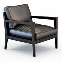 3d camilla armchair