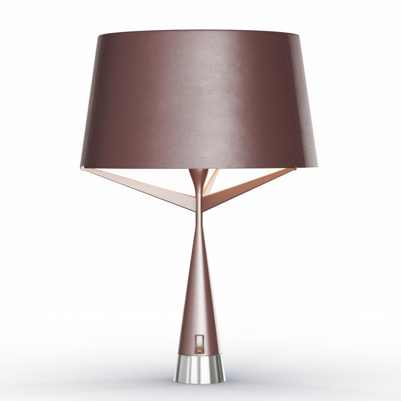 3d model s71 medium table lamp