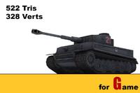 ww ii german tank obj
