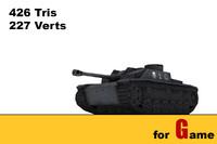 3ds max ww ii german tank