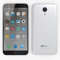 3d model meizu m1 note