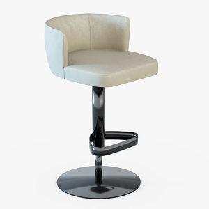 chair bar kelly 3d model